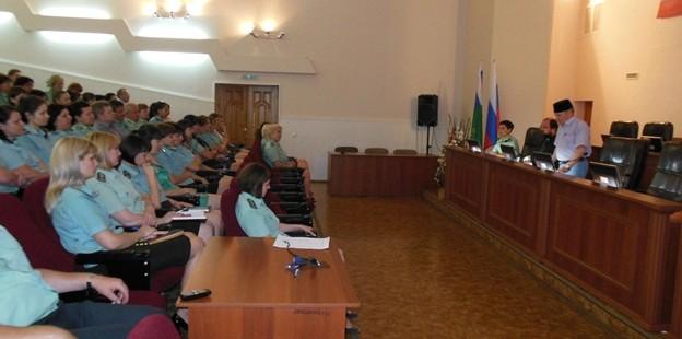 Встреча руководителя социальной службы ДУМОо с работниками УФСИН