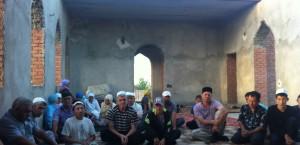Строительство мечети в с. Октябрьское