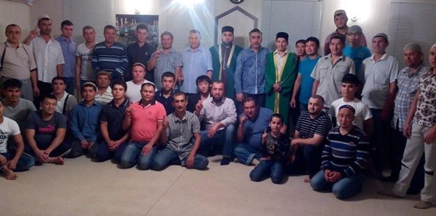 Мусульмане Бузулука встретили Ночь Могущества