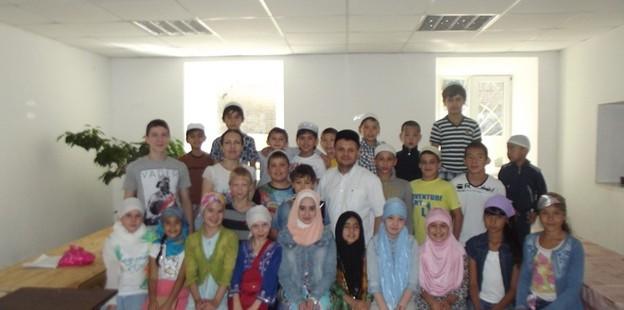 Открытие детских мусульманских лагерей дневного пребывания в Оренбурге при ДУМОо