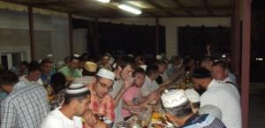 Коллективные  ифтары – богоугодное дело