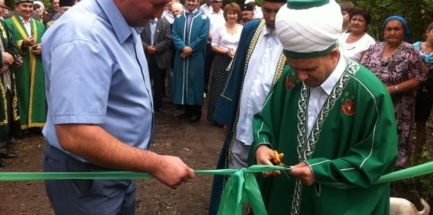 Открытие мечети в селе «Нижняя Кристалка»