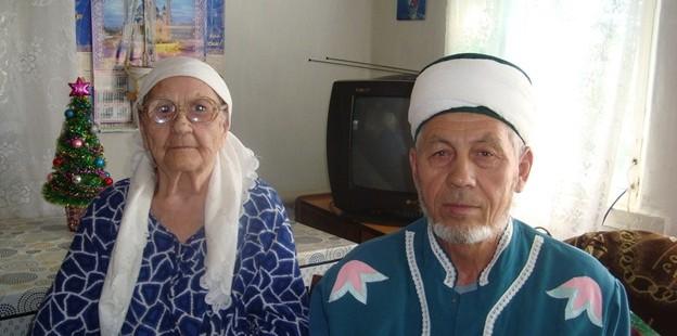 Имам мухтасиб села Илек встретился с ветераном труда