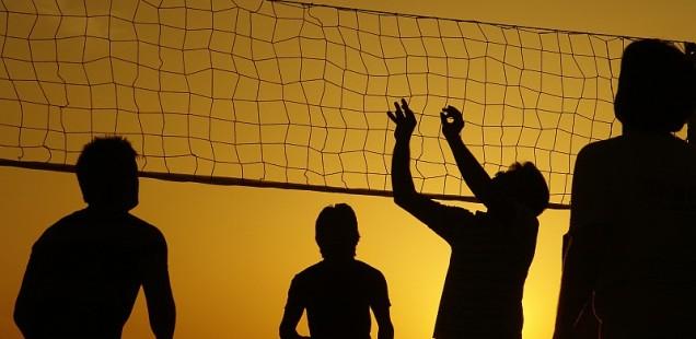 В здоровом теле - здоровый дух! Приглашаем на игру в волейбол!