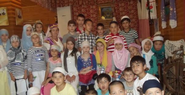 Экскурсия ребят в «Национальную деревню»