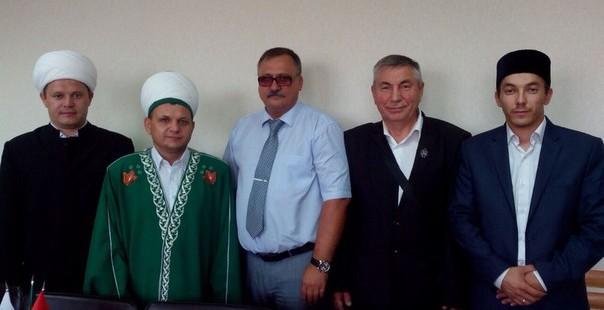 Встреча председателя ДУМОо с первым заместителем главы администрации г. Бузулука