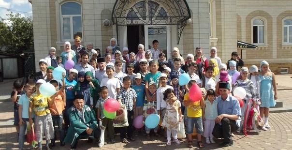 Долгожданный выпускной день для детей мусульманских лагерей дневного пребывания