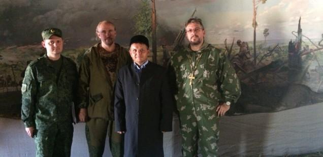 Председатель ДУМОо принял участие в военных учениях на Донгузском полигоне