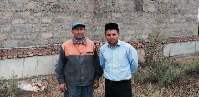 Председатель ДУМОо посетил строительство строящейся мечети