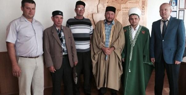 Встреча председателя ДУМОо с главой Бугурусланского района