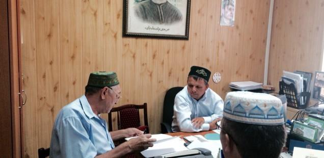 Председатель ДУМОо провел рабочую встречу с представителями мусульман с. Павловка Оренбургского района