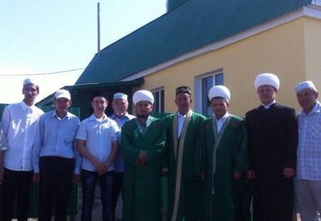 Председатель ДУМОо посетил мечеть с. Кабанкино