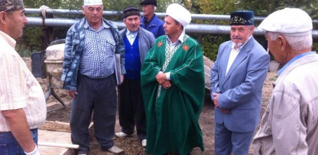 Поездка председателя ДУМОо в Беляевский район