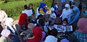 Центр детского развития «Алладин», организовал семейный праздник