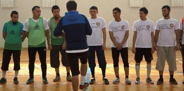 Прошел мусульманский благотворительный турнир по мини-футболу среди мужских студенческих команд