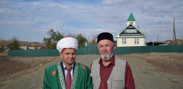 Председатель ДУМОо посетил с рабочим визитом мечеть «Галима» Кувандыкского района