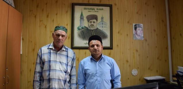 Председатель ДУМОо провел рабочую встречу с имамом села Мустафино