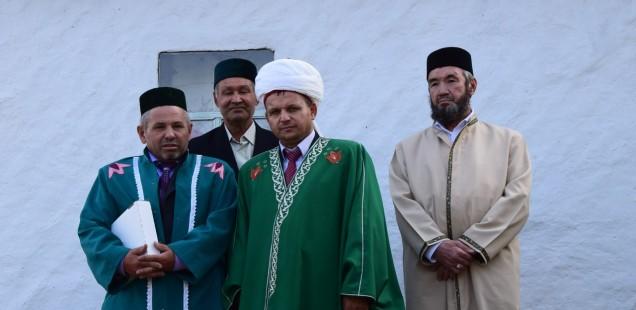 Председатель ДУМОо принял участие в торжественном открытии мечети