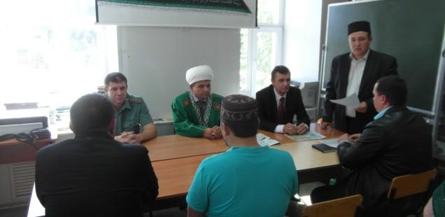 Встреча будущих паломников с представителями государственной власти Оренбургской области