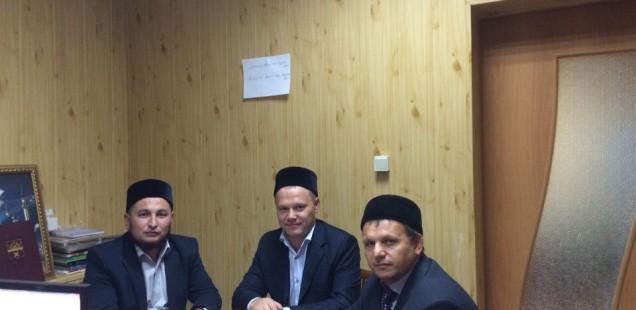 Председатель ДУМОо встретился с имам-мухтасибом Саракташского района Оренбургской области