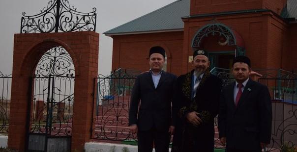 Командировка председателя РДУМОо по Адамовскому району Оренбургской области