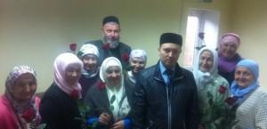 ДУМОо поздравило студентов заочного отделения «Медресе «Хусаиния», с Международным Днем Пожилого человека